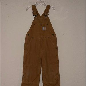 Carhartt Insulated Bibs Overalls With Zippers